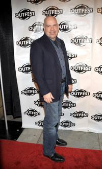 Jason Stuart at the Outfest Fusion Achievement Awards.