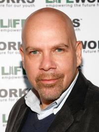 Jason Stuart at the Laugh Out Loud Comedy Benefit for Lifeworks Mentoring.