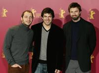 Claudio Santamaria, Pierfrancesco Favino and Kim Rossi Stuart at the photocall of