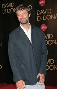 Kim Rossi Stuart at the David di Donatello 2007 Italian Awards.
