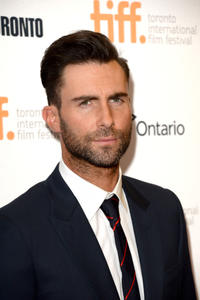 Adam Levine at the premiere of