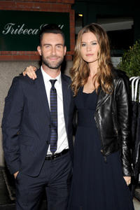 Adam Levine and Behati Prinsloo at the 2014 Tribeca Film Festival of