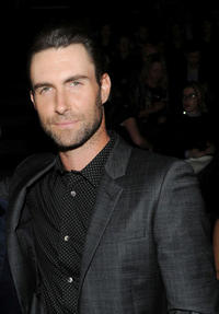 Adam Levine at the 2013 Victoria's Secret Fashion Show in New York.