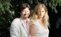 Trevor Nunn and Imogen Stubbs at the Laurence Olivier Awards 2007.