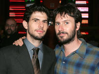 Daniel Eric Gold and Josh Hamilton at the after party of the Broadway opening night of
