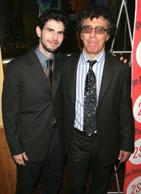 Daniel Eric Gold and Eric Bogosian at the after party of the Broadway opening night of