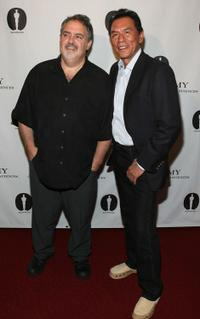 Jon Landau and Wes Studi at the AMPAS Presents