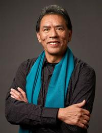 Wes Studi at the 2009 Sundance Film Festival.