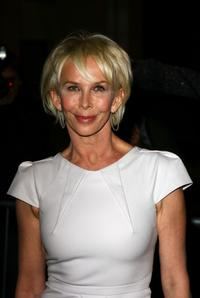 Trudie Styler at the Feast of Albion Quintessentially Gala Banquet.