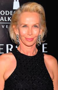 Trudie Styler at the Rodeo Drive Walk of Style Awards.