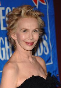 Trudie Styler at the Broadway Cares / Equity Fights Aids Benefit.