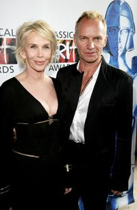 Trudie Styler and Sting at the Classical BRIT Awards 2007.