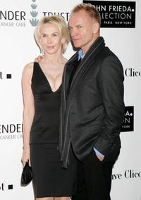 Trudie Styler and Sting at the Lavender Party.