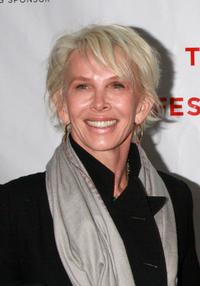 Trudie Styler at the premiere of