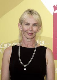 Trudie Styler at the photocall to promote