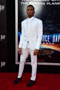 Jessie Usher at the California premiere of