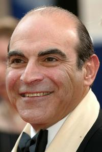David Suchet at the British Academy Television Awards.