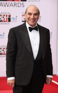 David Suchet at the Classical Brit Awards 2009.