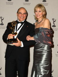 David Suchet and Judith Light at the 36th Annual International Emmy Awards.