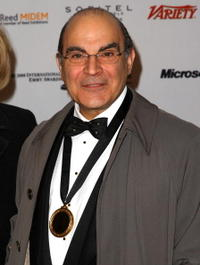 David Suchet at the 36th Annual International Emmy Awards.