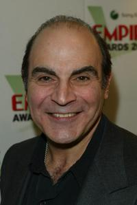 David Suchet at the Sony Ericsson Empire Film Awards.