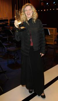 Barbara Sukowa at the Echo Klassik award ceremony.