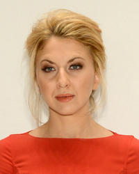 Nina Arianda at the Michael Kors during the Spring 2013 Mercedes-Benz Fashion Week in New York.
