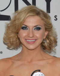 Nina Arianda at the 66th Annual Tony Awards in New York.