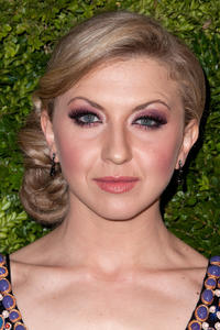 Nina Arianda at the 8th Annual CFDA/Vogue Fashion Fund Awards in New York.