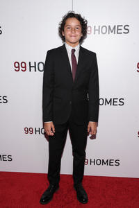 Noah Lomax at the New York screening of
