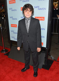 Noah Lomax at the California premiere of