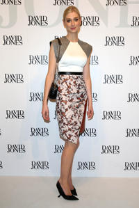 Elizabeth Debicki at the David Jones Spring/Summer 2013 Collection Launch.