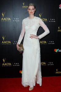 Elizabeth Debicki at the 2nd Annual AACTA Awards 2013.