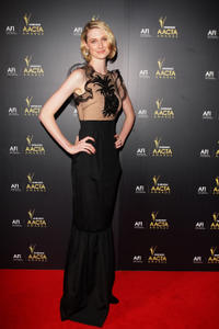 Elizabeth Debicki at the 2012 Annual AACTA Awards.