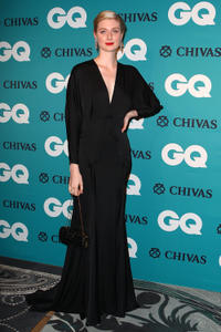 Elizabeth Debicki at the GQ Men of the Year Awards 2012.