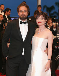 Elizabeth Debicki and Justin Kurzel at the premiere of