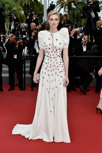 Elizabeth Debicki at the 68th Annual Cannes Film Festival 2015.