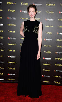 Elizabeth Debicki at the AACTA International Awards 2015.