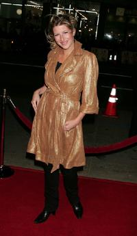 Tara Summers at the premiere of