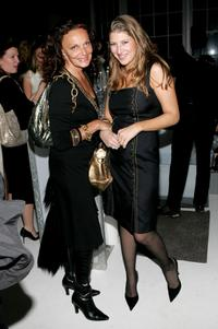 Diane von Furstenberg and Tara Summers at the after party of the New York Gala premiere of