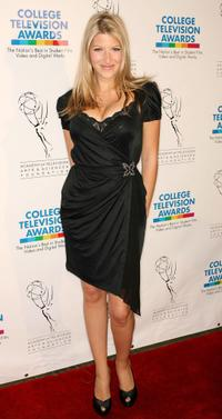 Tara Summers at the 29th College Television Awards Gala.