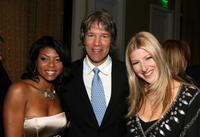 Teraji P. Henson, David E. Kelley and Tara Summers at the Alzheimer's Association's 16th Annual