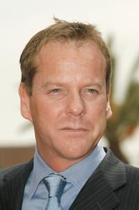 Kiefer Sutherland at the ceremony for Forest Whitaker Honored With A Star On The Hollywood Walk Of Fame.
