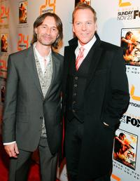 Robert Carlyle and Kiefer Sutherland at the world premiere screening of