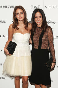 Sophie Curtis and Jill Stuart at the New York premiere of