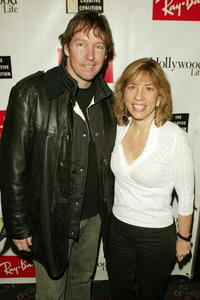D.B. Sweeney and Robin Bronk at the Ray Ban Vision Awards.