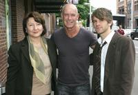 Marta Maczmarek, Gary Sweet and Nick Simpson-Deeks at the L'Oreal Paris 2007 AFI Awards.