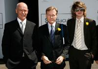 Gary Sweet, William Sadler and Frank Sweet at the Melbourne Cup Carnival 2007.