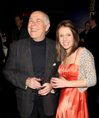 Clive Swift and his Guest at the gala screening of