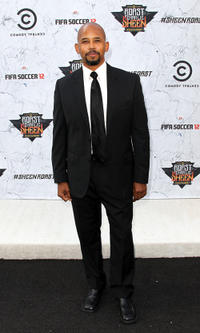 Michael Boatman at the Comedy Central's Roast of Charlie Sheen in California.